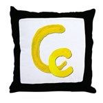 C is for Cookie Throw Pillow