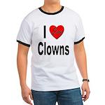 I Love Clowns Ringer T