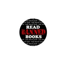 Cute Banned books Mini Button