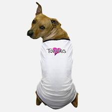 Love (heart) Townies Dog T-Shirt