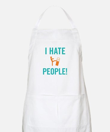 I Hate People BBQ Apron