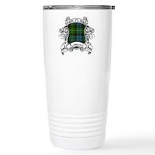 Lamont Tartan Shield Travel Mug