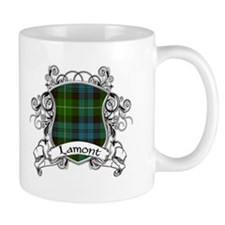 Lamont Tartan Shield Mug