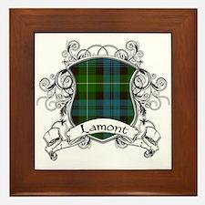 Lamont Tartan Shield Framed Tile
