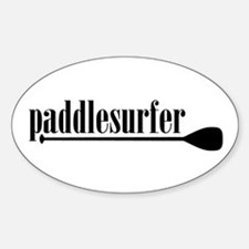 Paddlesurfer Oval Decal