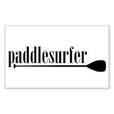 Paddlesurfer Rectangle Decal