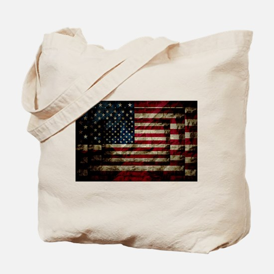 American Leather Flag Tote Bag