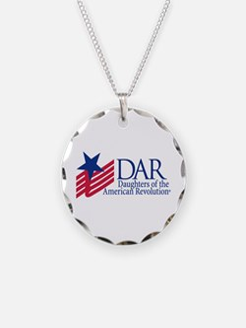Dar New Logo Necklace Circle Charm