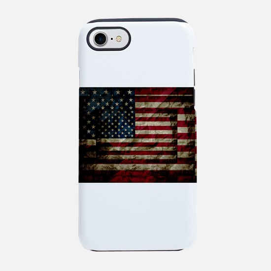 American Leather Flag iPhone 7 Tough Case