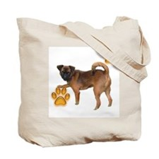 Smooth Brussels Griffon Tote Bag