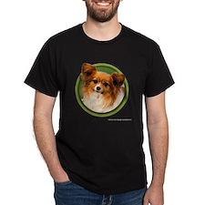 Papillon Art (Green) T-Shirt