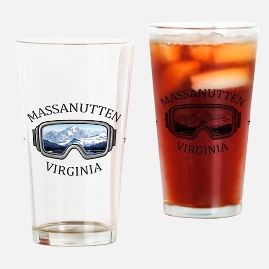 Massanutten Ski Resort - Massanut Drinking Glass