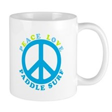 Peace Love Paddle Surf Mug