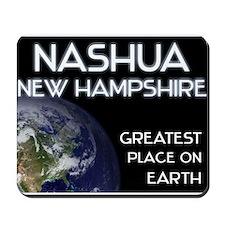 nashua new hampshire - greatest place on earth Mou