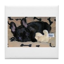 Frenchie Tile Coaster