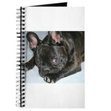 Funny French bulldog Journal