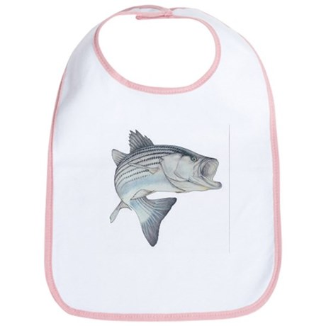 Striped Bass (Front only) Bib