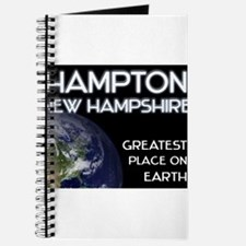 hampton new hampshire - greatest place on earth Jo