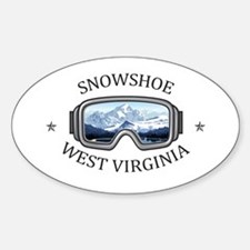 Snowshoe Mountain - Snowshoe - West Virg Decal
