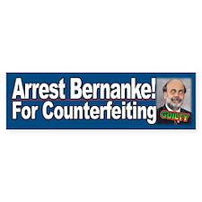 Arrest Bernanke for Counterfeiting