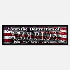 Stop the destruction of America