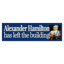 Hamilton has left the building