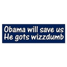Obama will save us