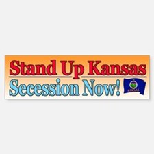 Stand Up Kansas Bumper Bumper Bumper Sticker