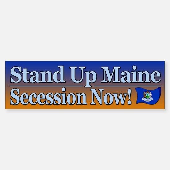 Stand Up Maine Bumper Bumper Bumper Sticker