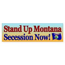 Stand Up Montana Bumper Bumper Sticker