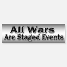 All Wars are Staged Events