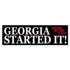 Funny Georgia Started It Political