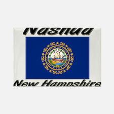 Nashua New Hampshire Rectangle Magnet