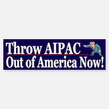 Funny Political Lobbyist Bumper Car Car Sticker