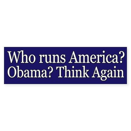Who runs America?