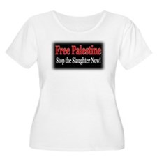 Free Palestine - Stop the Slaughter T-Shirt