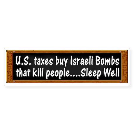U.S. Taxes Buy Israeli Bombs