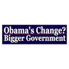 Obama's Change?