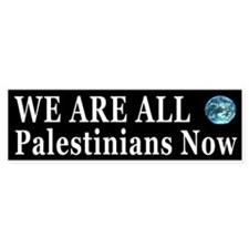 Support the Palestinians Bumper Bumper Sticker