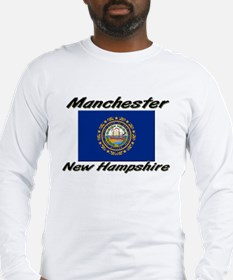 Manchester New Hampshire Long Sleeve T-Shirt