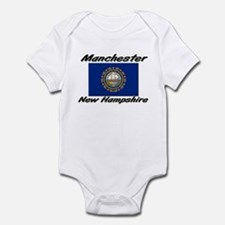 Manchester New Hampshire Infant Bodysuit