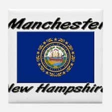 Manchester New Hampshire Tile Coaster