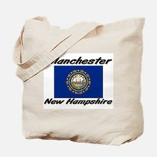 Manchester New Hampshire Tote Bag