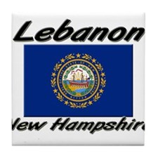 Lebanon New Hampshire Tile Coaster