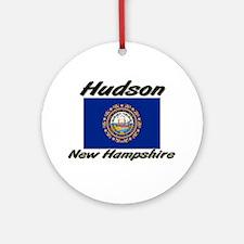 Hudson New Hampshire Ornament (Round)