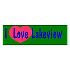 New Orleans Lakeview Bumper Bumper Sticker