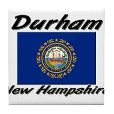 Durham New Hampshire Tile Coaster