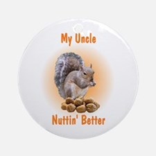 Uncle Ornament (Round)