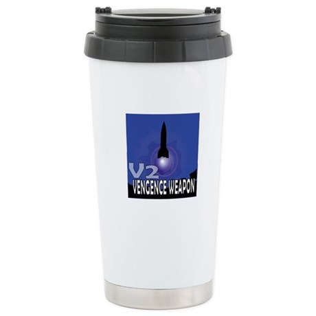V2 ROCKET Stainless Steel Travel Mug