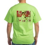 Open Your Heart to a Chained Green T-Shirt